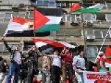 Protest At Cairo Embassy Calls For Intifada
