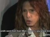 Video: Steven Tyler Reveals Lost Aerosmith Reality Show And Sings On Red Carpet!