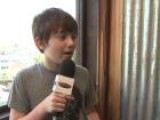 Greyson Chance On Sharing A Tour Bus With Cody Simpson