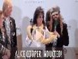 Alice Cooper Inducted Not Indicted!