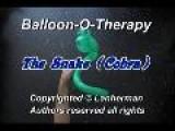 Balloon Twisting Animal: Snake 2 Cobra