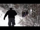 Family Snow Hiking Activity