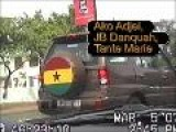 Ghana@50 Eve Accra: To J.B. Danquah Circle, Osu, And Maguis Tante Marie