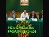 INICIA ACTIVACION FISICA DE JUAREZ