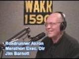 Jim Barnett Roadrunner Akron Marathon