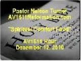 Spiritual Comfort Food - Pastor Nelson Turner - Www.AV1611Reformation.com - 12-12-2010