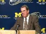 U-M Vs. Minnesota Pregame Press Conference | The Ann Arbor News