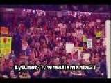 WWE Wrestlemania 27 - The Rock Vs John Cena Vs The Miz