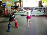 10year Old Girl Kickboxer