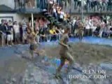 College Girls Mud Wrestling