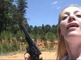 Hot Milf Shooting Guns