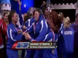 Memphis Cheerleader Going CRAZY Celebrating