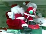 Santa Gets A Lapdance