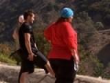 Hiking Up Runyon Canyon