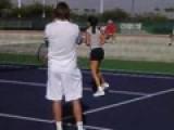Ana Ivanovic Practice