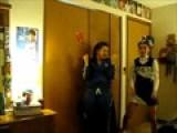Bahahah! Vikki A Cheerleader!