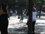 Breakdancing Man