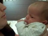 Baby Keith Giving Mommy