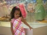 Little Girl Shopping For