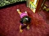 My Niece Doing Aerobics