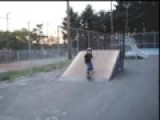 My Son Tyler Skateboarding