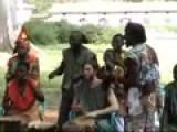 Ras Daniel Drumming In Ghana