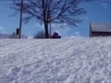 WIPE OUT!!! Sledding 2010
