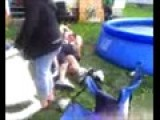 Walt&Mitch Pool Fight