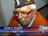 WW II Veterans Home From Honor Flight