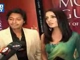 Celina And Shreyas At Book Launch
