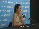 Ana Ivanovic Speaks About Her First Round
