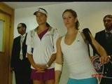 Ana Ivanovic & Camille Pin Dubai 2009