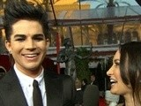 Access Hollywood 2010 SAG Awards: Adam Lambert On The &#039 Powerful&#039 Oprah And Going International