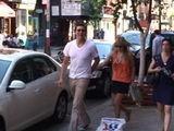 Ali Larter And Boyfriend Stroll Through SoHo