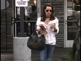 Ashley Tisdale Makes Her Daily Coffee Run