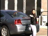Ashley Tisdale Arrives At A Recording