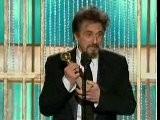 Al Pacino @ Golden Globes 2011