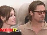 Angelina Jolie & Brad Pitt At Kung Fu Panda 2 Los Angeles Premiere