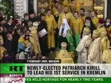 Kirill Conducts First Duty As Patriarch