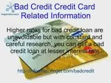 Bad Credit Mortgage Related Guidelines