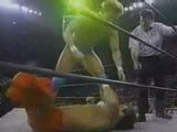 Chris Benoit Vs Alex Wright