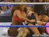 Candice Michelle Gets Payback On Melina