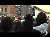 Corteo Fiom A Genova: Tensione Davanti A