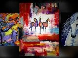 Contemporary Oil Paintings Horse Paintings And Impressionism Western Art By Colorado Artist Jennifer Morrison