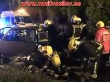Espectacular Accidente Con Atrapados En Secar De La Real 27012011 Traffic Accident Car Crash ДТП