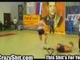 Fatal Muy Thai Kickboxer Headkick