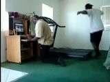 Funny Treadmill Fail - From Dailymotion