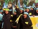 Toto School Girls Rally For Blasphemy Law
