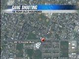 Gang-related Shooting Leaves Teen Injured