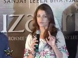 Hilarious Aishwarya Rai At Guzaarish Press